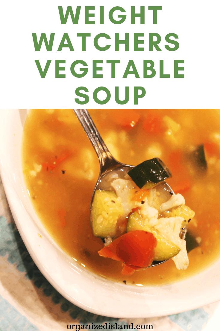 WW Vegetable Soup