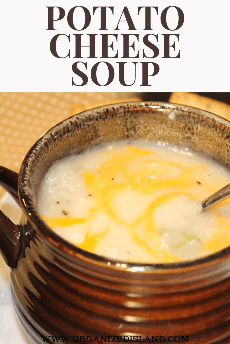 Easy Potato Cheese Soup