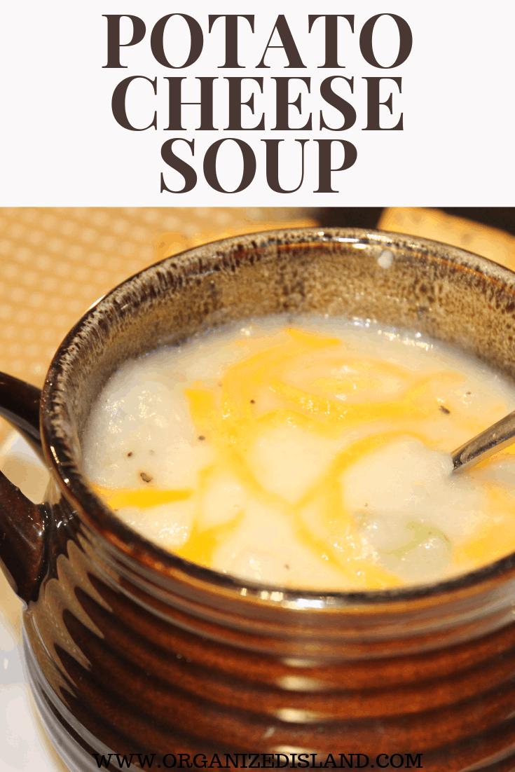 Easy Potato Cheese Soup