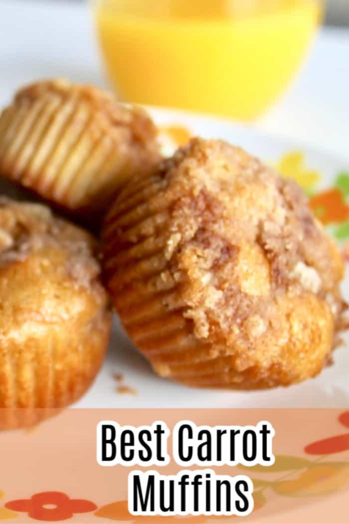 Best carrot muffin recipe