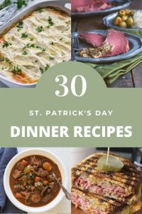 St. Patrick Dinner Recipes