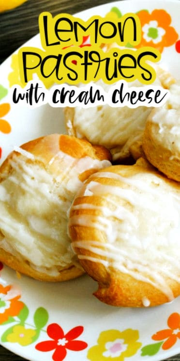 Lemon dessert cream cheese
