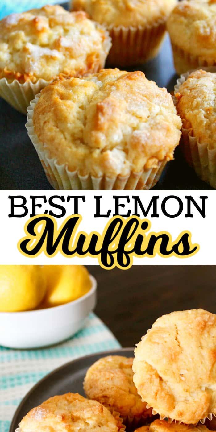 Best Lemon Muffins