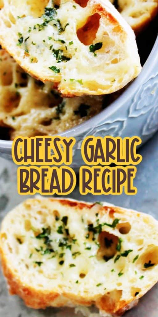 Easy Cheese Garlic Bread Recipe