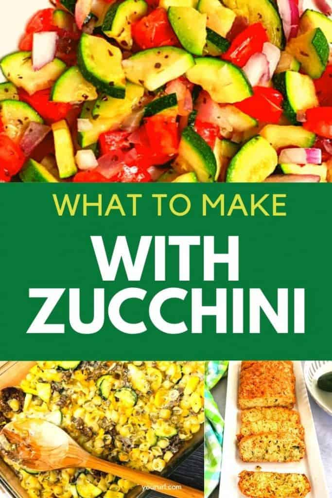 What to make with zucchini