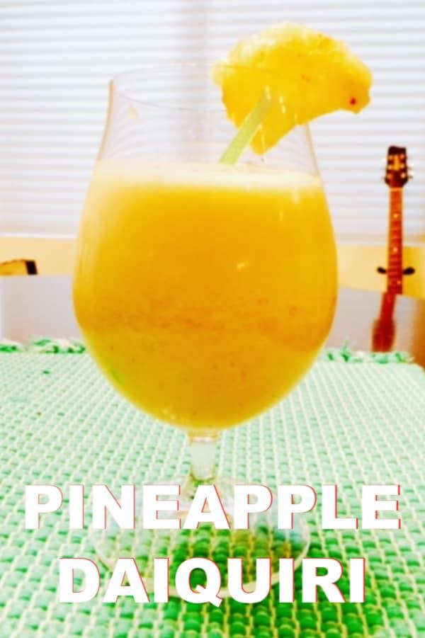 Easy Pineapple Daiquiri Recipe
