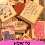 ORGANIZE RUBBER STAMPS