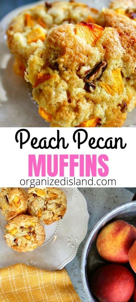 Fresh Peach muffin recipe