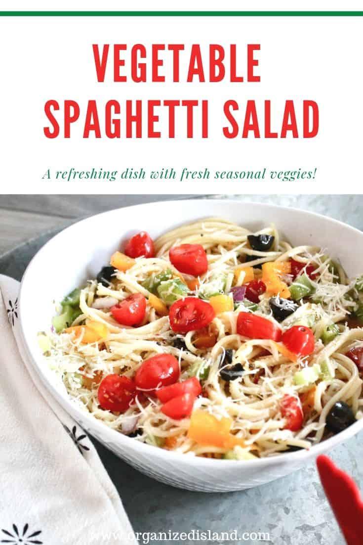 Vegetable Spaghetti Salad