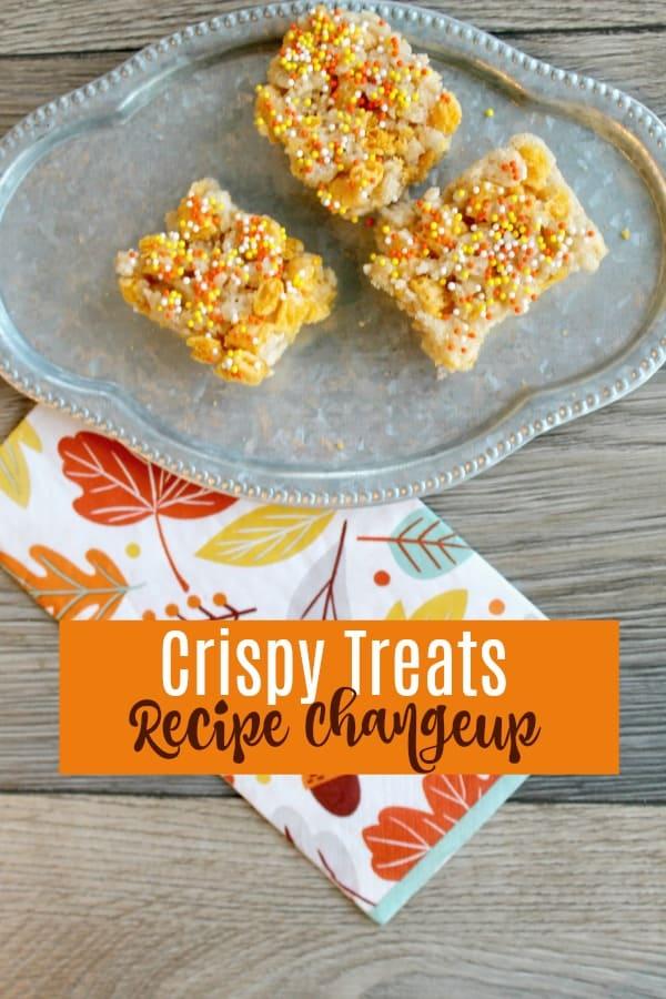 fall rice crispy treats