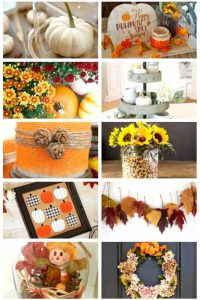 Easy fall DIY ideas