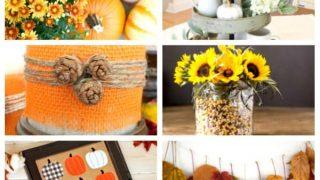 Easy fall DIY ideas
