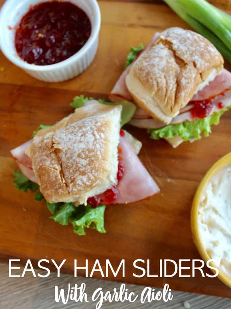 Easy Ham Sliders
