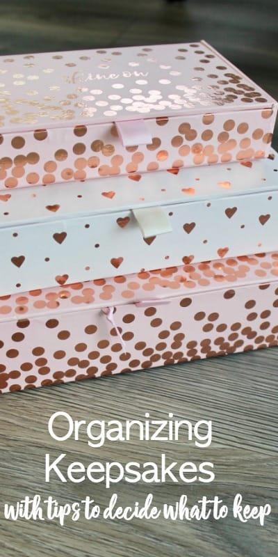 storage boxes for keepsakes