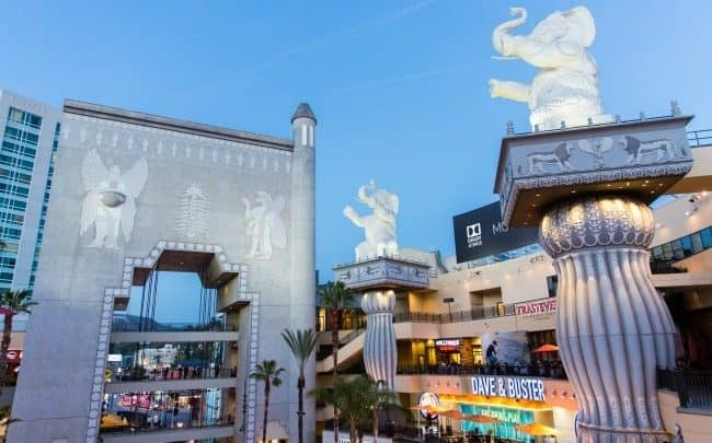 Hollywood and Highland Los Angeles