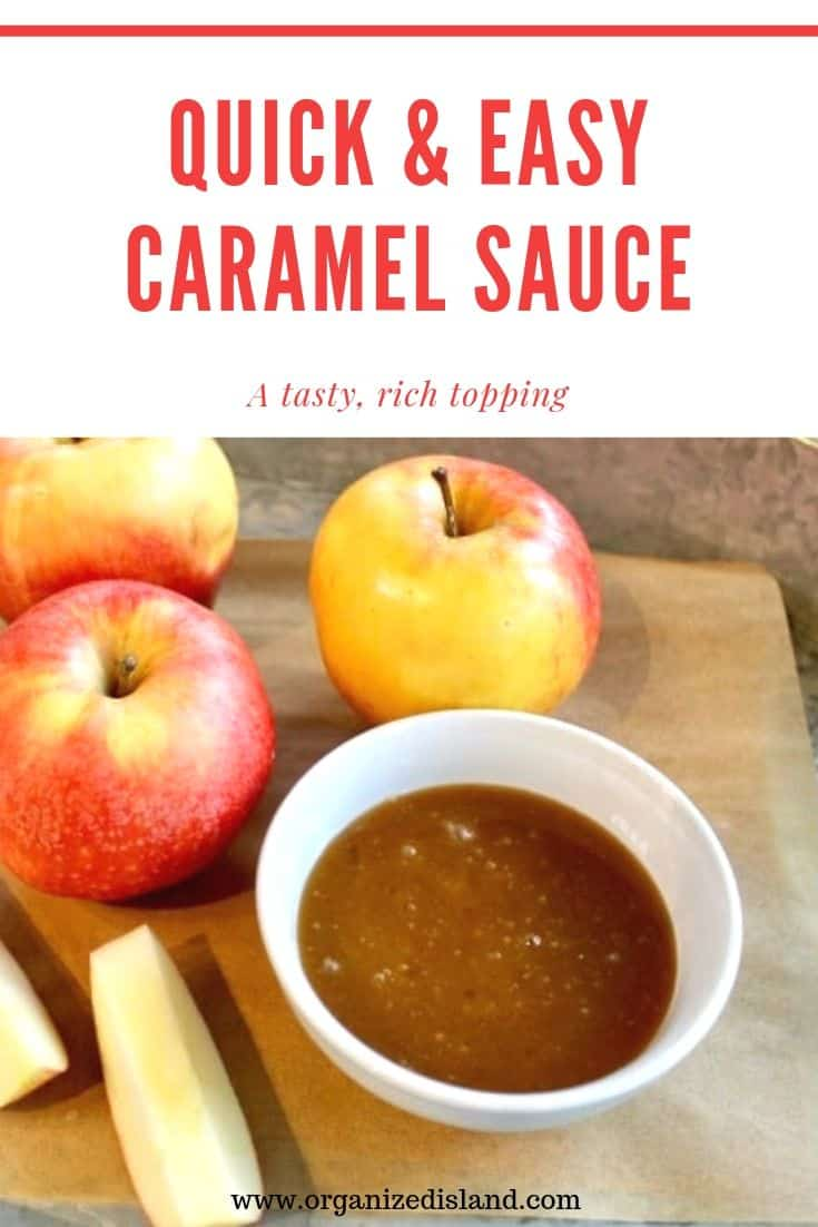 QUICK & EASY CARAMEL SAUCE