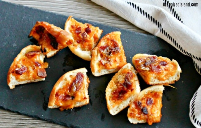 beer cheese appetizer bites