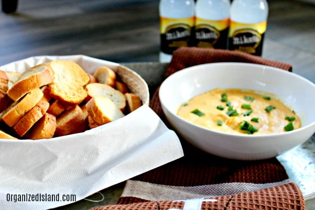 Hot Beer Cheese Dip