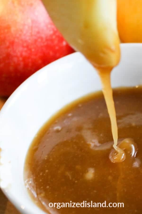 caramel apple dip easy