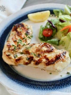 Chicken Lemon Dinner with fresh Thyme