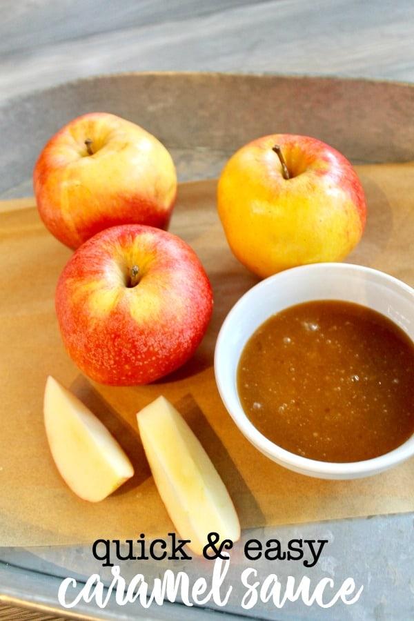 simple apple dip