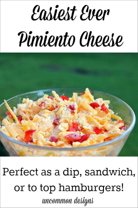 Easiest Ever Pimiento Cheese Dip | 20 Easy & Delicious Game Day Recipes | Organized Island