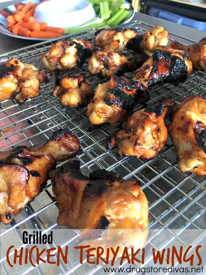 Grilled Chicken Teriyaki Wings | 15 of the Best Game Day Chicken Recipes You'll Ever Make | Organized Island