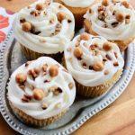 Caramel Pecan Cupcake