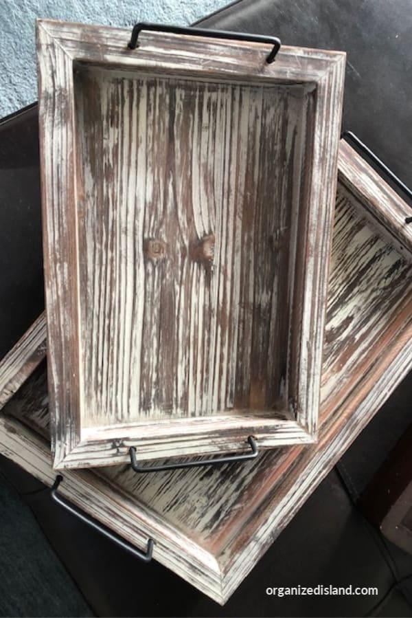 Farmhouse Tray Set