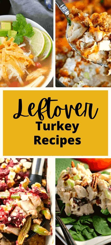 Leftover turkey recipe ideas