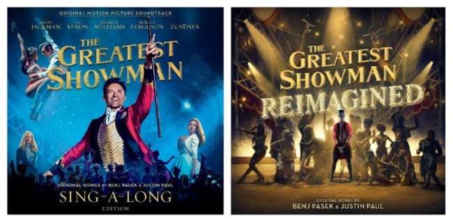 The Greatest Showman Albums
