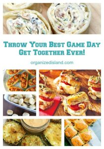Throw Your Best Game Day Get Together Ever! | Organized Island