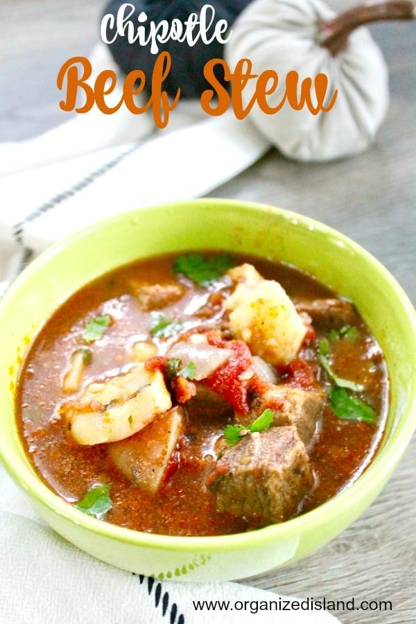 spicy beef stew recipe