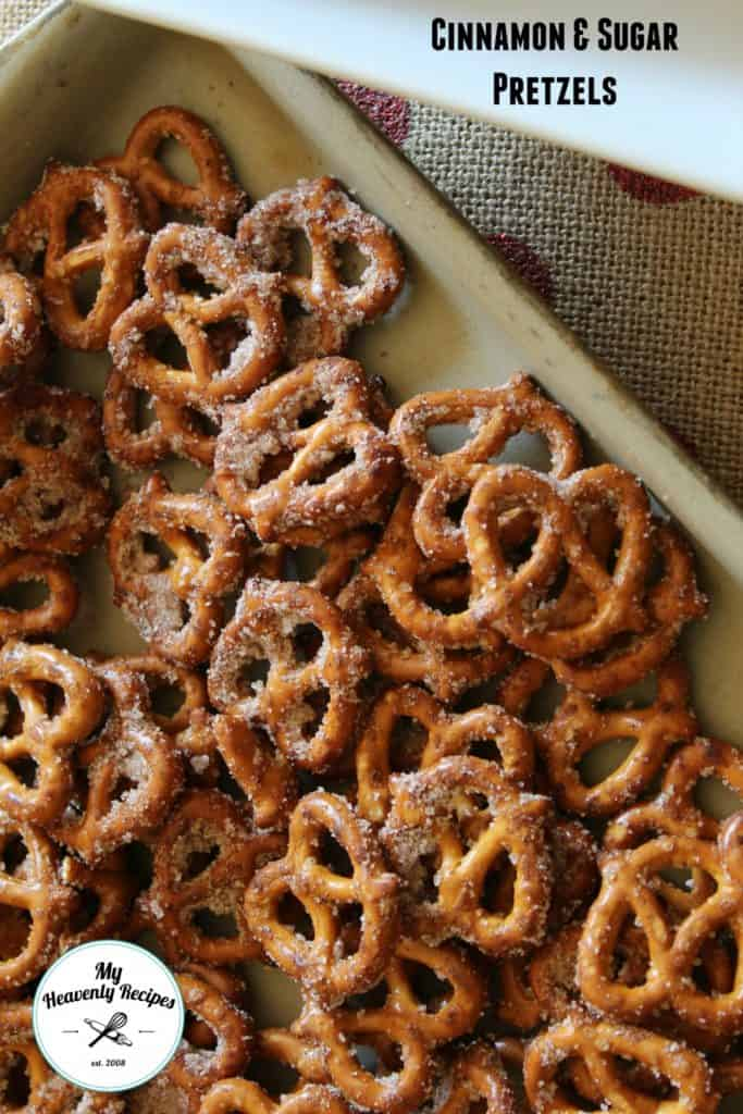 16 Simple and Savory Christmas Gift Ideas | Quick and Easy Cinnamon Pretzels | My Heavenly Recipes