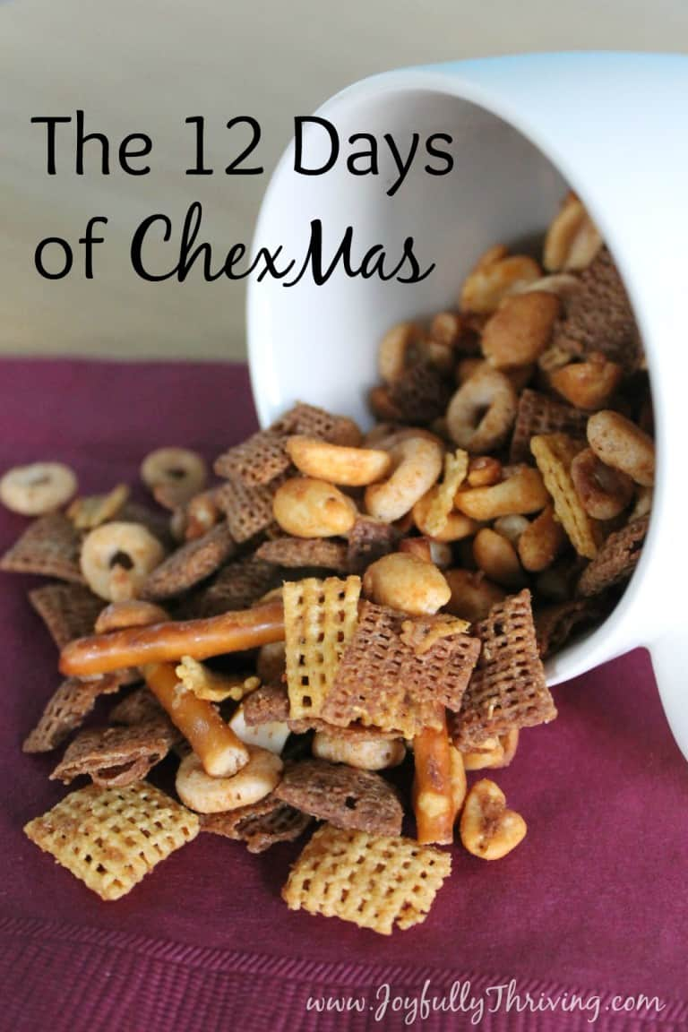 16 Simple and Savory Christmas Gift Ideas | Chex Mix | Joyfully Thriving