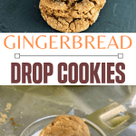 Ginger Drop cookies