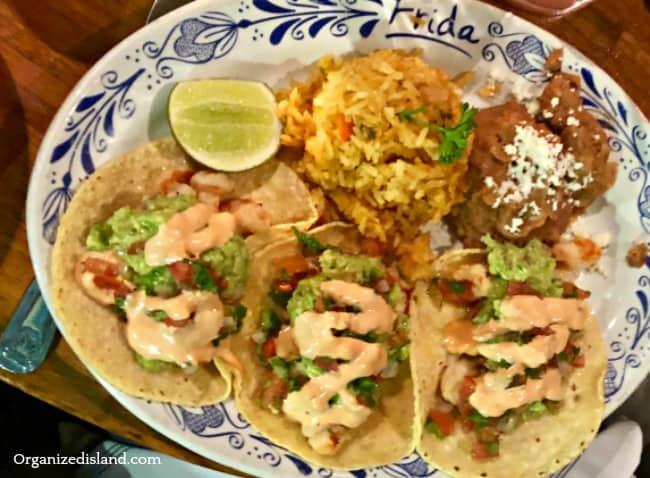 frida torrance shrimp tacos