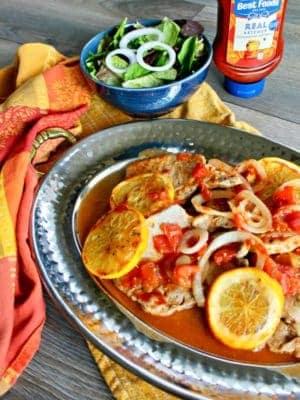 Pork chops dinner recipe