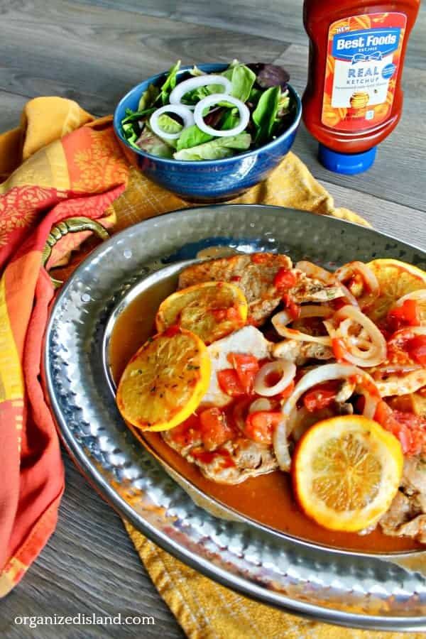 Pork chops dinner recipe