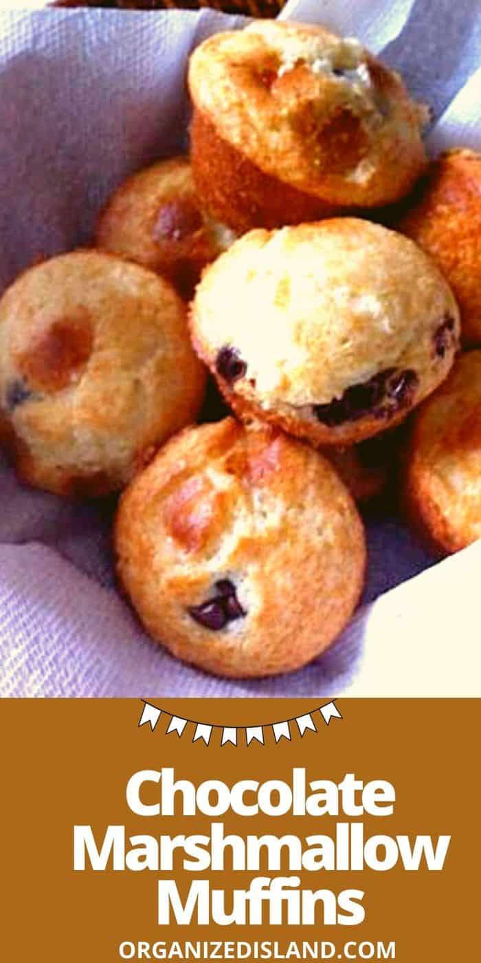 Chocolate Marshmallow Muffins
