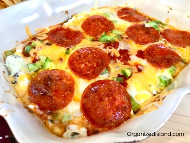 Easy Pizza Appetizer Dip