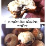 Marshmallow Chocolate Muffins