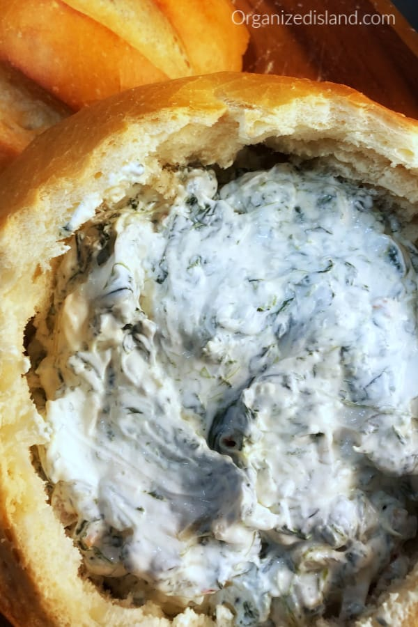 spinach dip appetizer knorr
