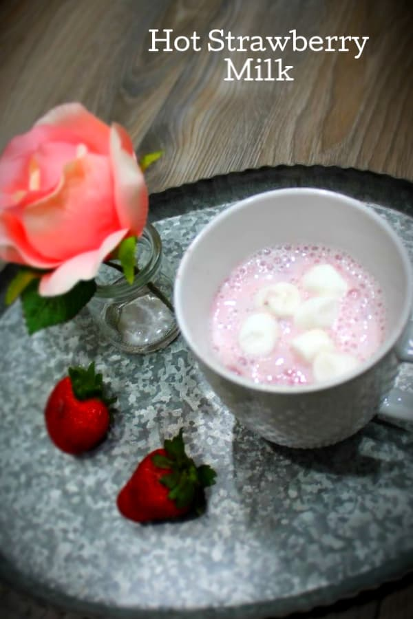 Hot Strawberry Milk