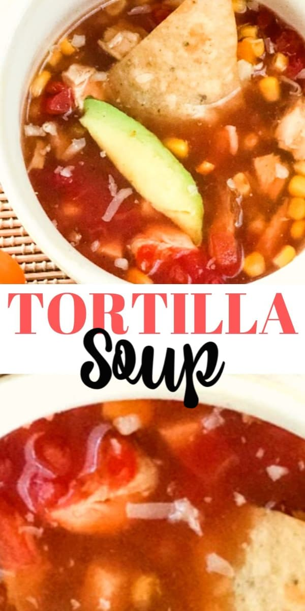 ortilla soup homemade recipe easy