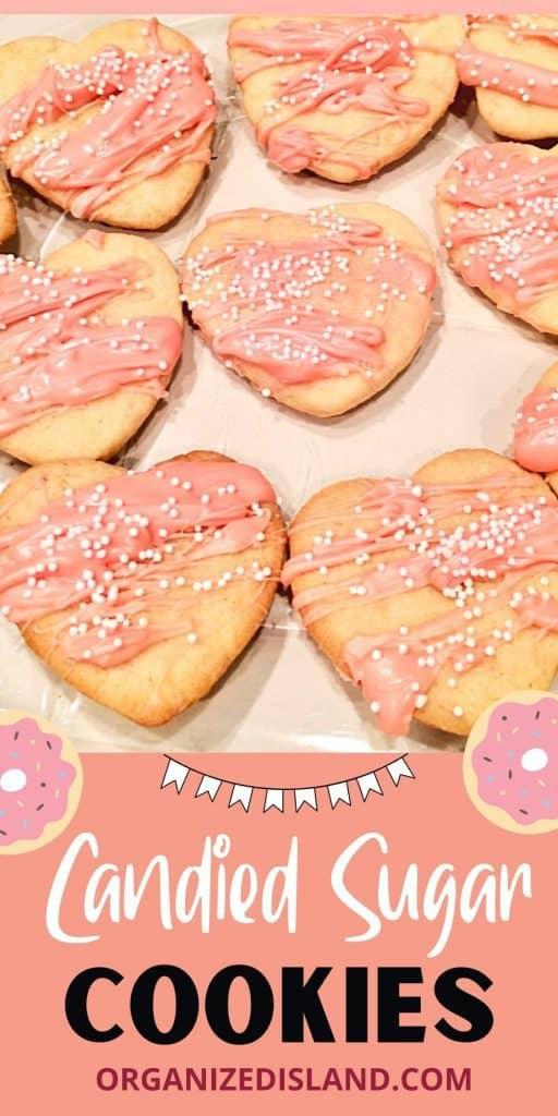 Candied Sugar Cookies