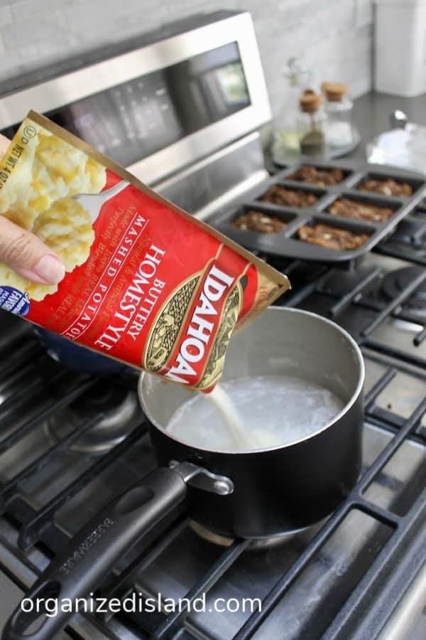 quick mashed potatoes