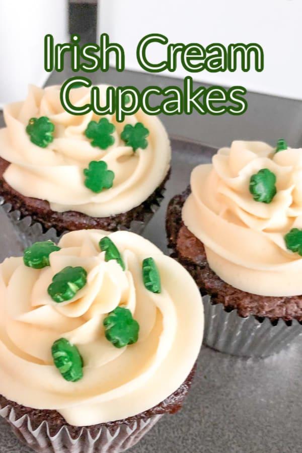 Chocolate Irish Cream Cakes