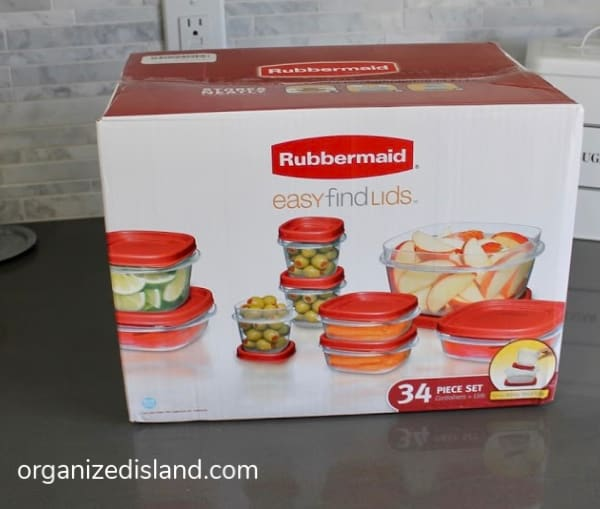 Rubbermaid food storage system