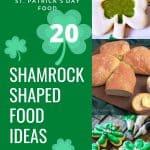 Shamrock shaped food